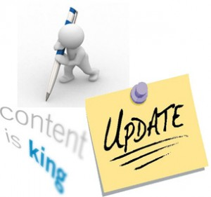Content - Update your website content regularly - SEO Tips